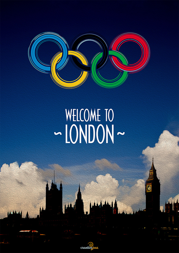Welcome to London Poster