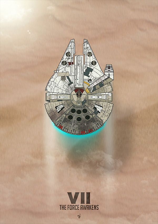 Star Wars EPVII - The Force Awakens
