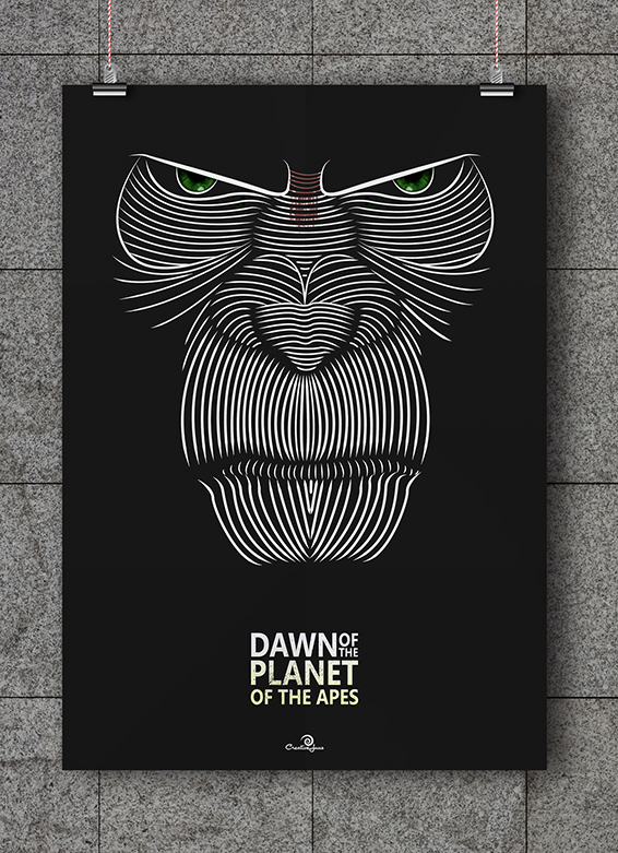 Dawn of the Planet of the Apes Print