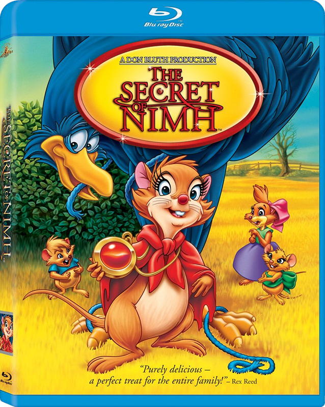 the secret of nimh blu ray cover